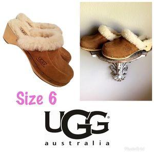 UGG Fur Lined Mules Clogs